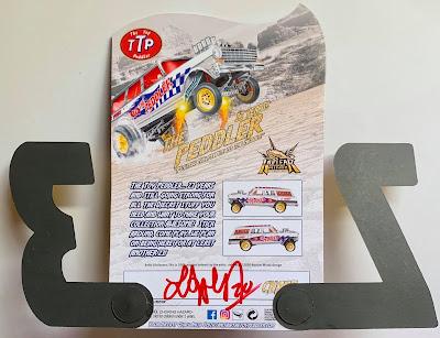 lee allen The Toy Peddler 23 Year Anniversary Custom '64 Wagon Gasser nova ttp gold chase