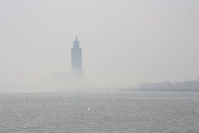 Casablanca, Marruecos, Gran Mezquita, Hassan II, Minarete, blog de viajes