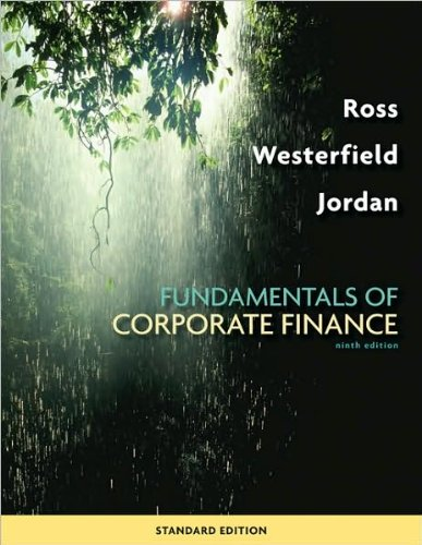 solution essentials of corporate finance 6th edition 2010 by ross westerfield jordan
