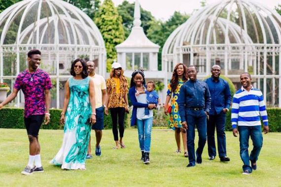 photos of Delta State Governor, Ifeanyi Okowa and his family 555
