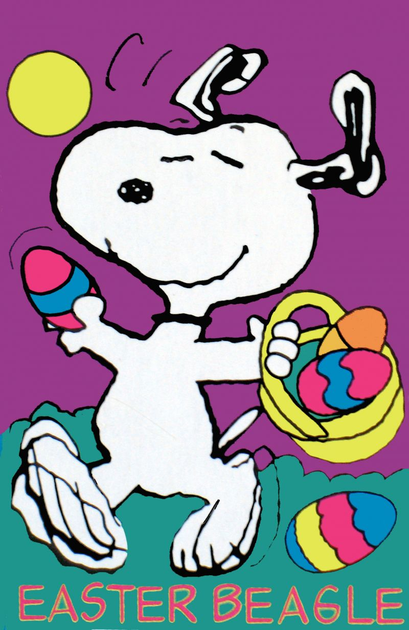 Snoopy Frohe Ostern