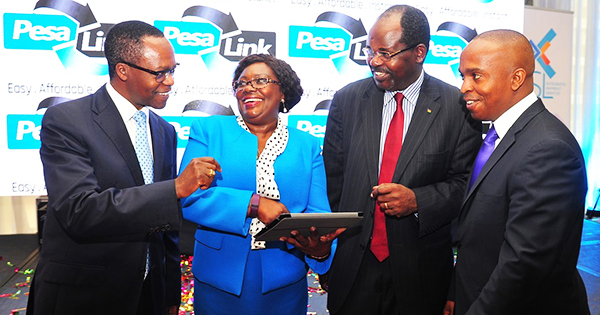 PesaLink founders in Kenya