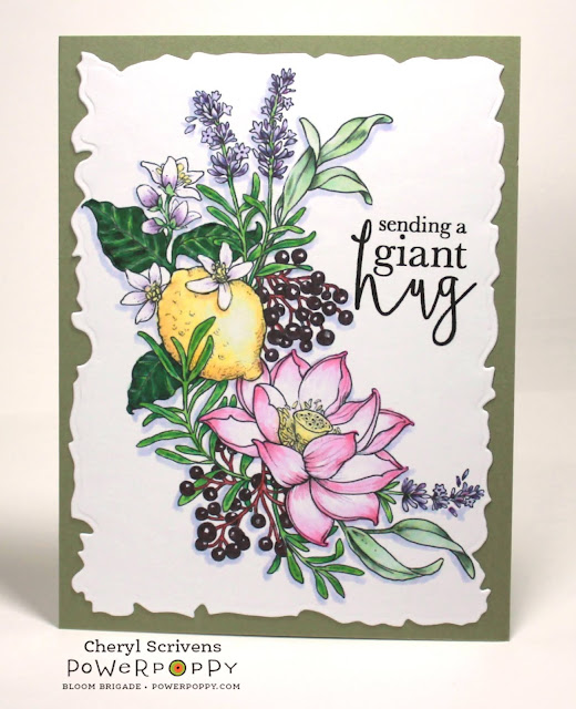 Power Poppy, Marcella Hawley, Healing Bouquet, Always Here, CherylQuilts, Designed by Cheryl Scrivens, August 2020