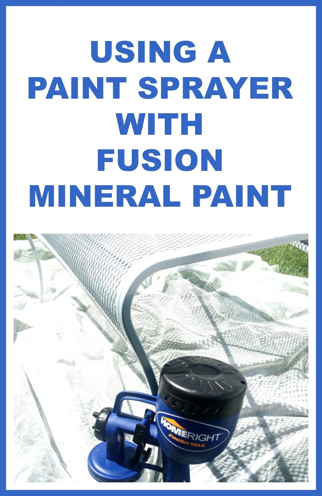 Using A Paint Sprayer On Outdoor Furniture Homeroad