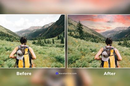 Tutorial Mudah Ganti Awan Otomatis di Photoshop Terbaru 2021