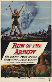 "Recenzja filmu ""Run of the arrow"" (1957), reż. Samuel Fuller"