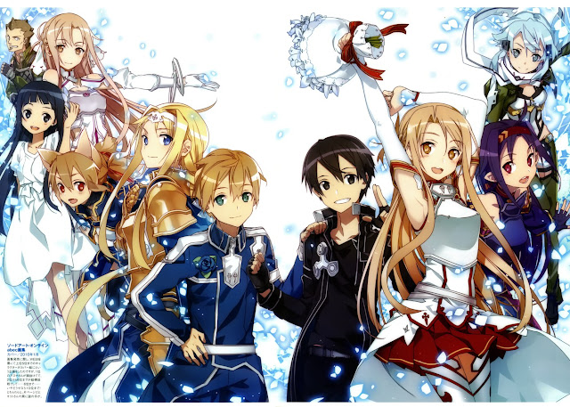 wallpaper sword art online(sao)