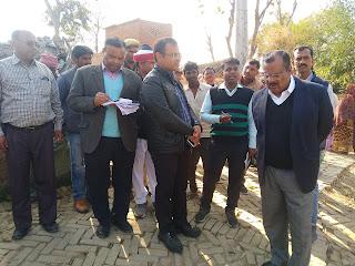 Jaunpur : डीएम ने ब्लाक व मुसहर बस्ती का किया औचक निरीक्षण