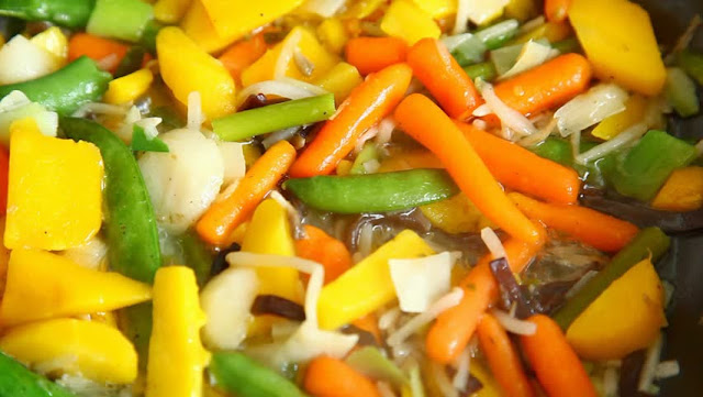 Chinese vegetables receipe
