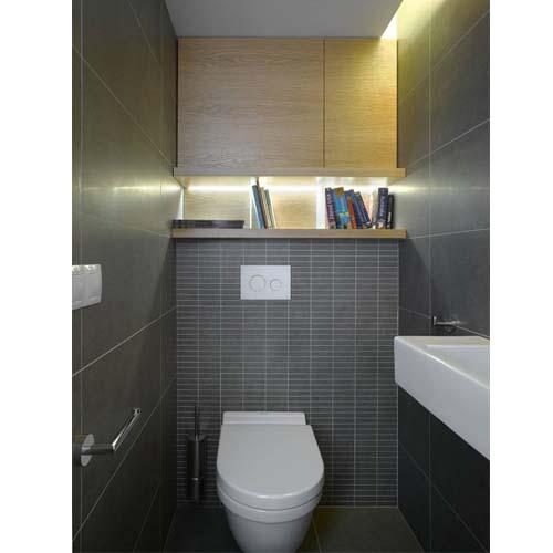 Esempio di ristrutturazione di un bagno di un piccolo loft a Praga
