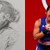 Guhit ng Larawan ni Olympic Gold Medalist Hidilyn Diaz na Naluluha, Viral Ngayon sa Social Media!