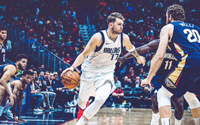 Luka Doncic - Dallas Mavericks - triple double