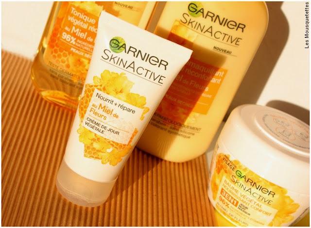 Miel de Fleurs, la gamme SkinActive de Garnier - Crème végétal visage - Blog beauté