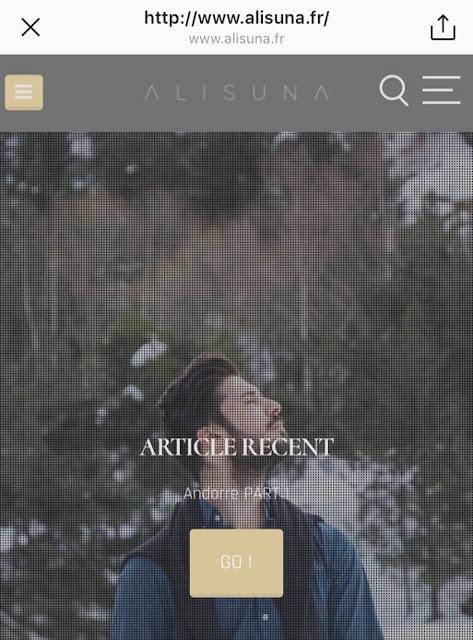 Ali Suna lance son blog