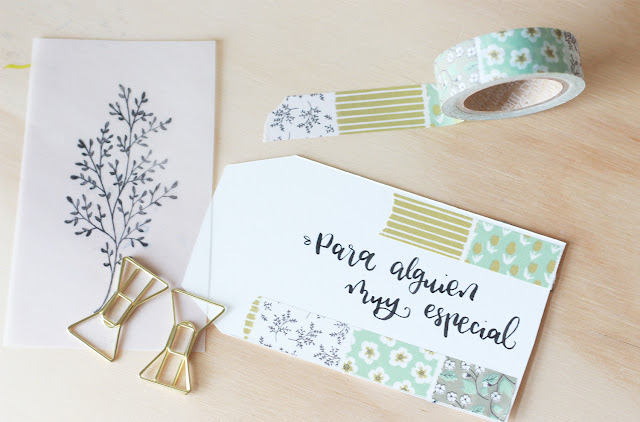 Ideas DIY: decora etiquetas con papel vegetal