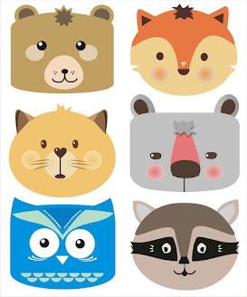 Ejemplo de caras de animales