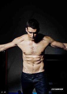 Hot Chest Male Model Sergio Mur