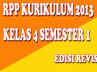 RPP Kelas 4 SD/MI Kurikulum 2013 Edisi Revisi 2017 Semester 1 Lengkap