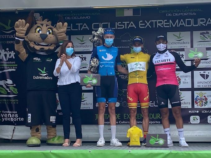 Benjamí Prades rubricó el pleno del Vigo - Rías Baixas en la Vuelta a Extremadura