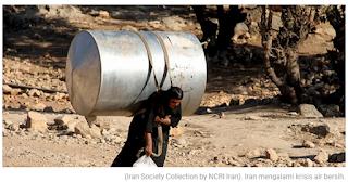 Demo Krisis Air Berlanjut di Iran