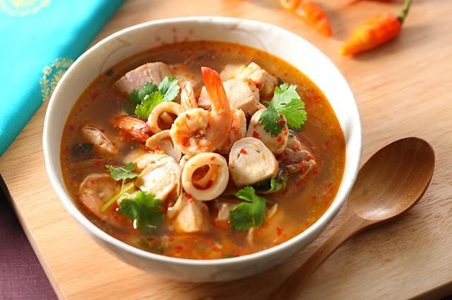 Tom Yam Mushroom Recipe