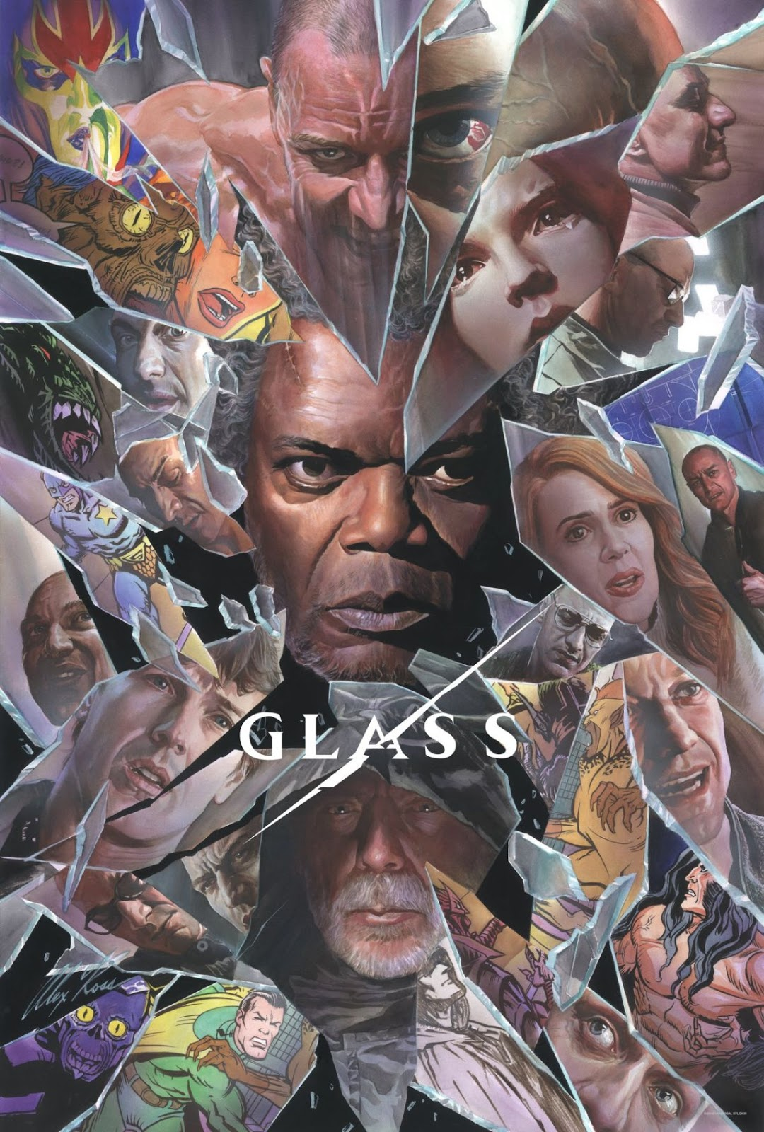 Poster de Glass por Alex Ross