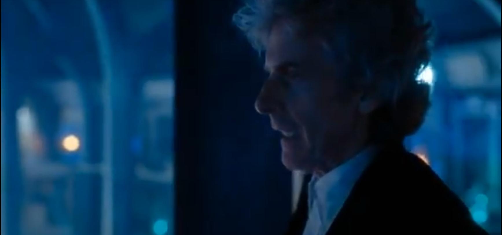 Кадр из сериала Доктор Кто регенерация Двенадцатого