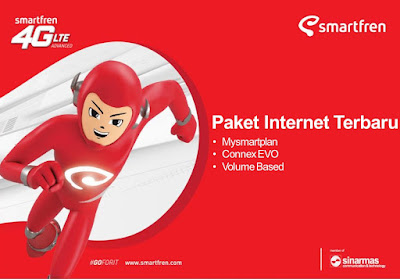 Paket Data Internet Samrtfren Volume Based