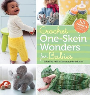 Enter for your chance to WIN a copy of Crochet One-Skein Wonders for Babies! #crochet #yarn #LapdogCreations ©LapdogCreations