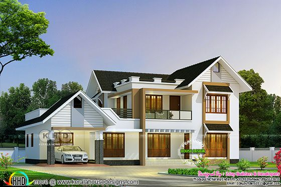 2765 square feet 5 bedroom semi contemporary home