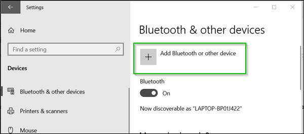 memungkinkan Anda untuk memeriksa tingkat baterai Bluetooth perangkat Cara memeriksa tingkat Baterai Bluetooth pada Windows 10