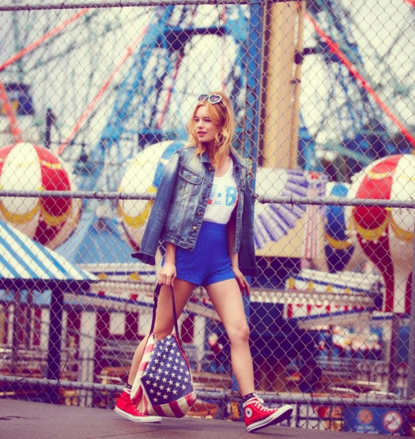 Camille Rowe - Free People Lookbook June 2012