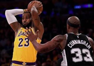 Lebron James, Overhead Pass, LA Lakers, los angeles lakers, Lakers, NBA