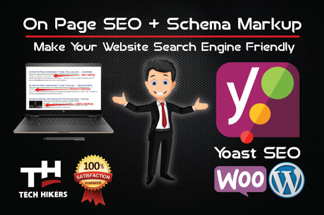 Wordpress yoast SEO on page with schema markup - add schema markup to wordpress
