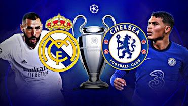 توقيت مباراة ريال مدريد ضد تشيلسي ذهاب الدور نصف النهائي من بطولة دوري أبطال أوروبا والتطبيقات الناقلة