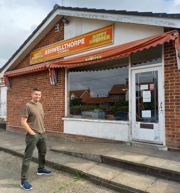 The Ashwellthorpe Stores Happy Shopper shop in Ashwellthorpe, Norfolk
