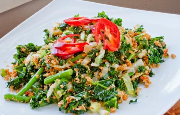 Resep urap sayur tradisional simple