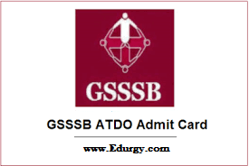 GSSSB ATDO Exam Date 2020 – 2021 Admit Card Out