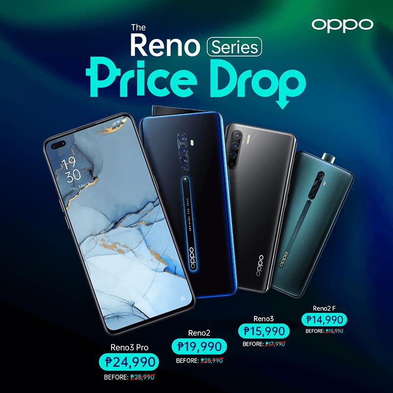 Price Drop of Reno Series