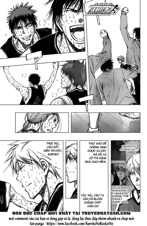 Kuroko No Basket chap 169 trang 5