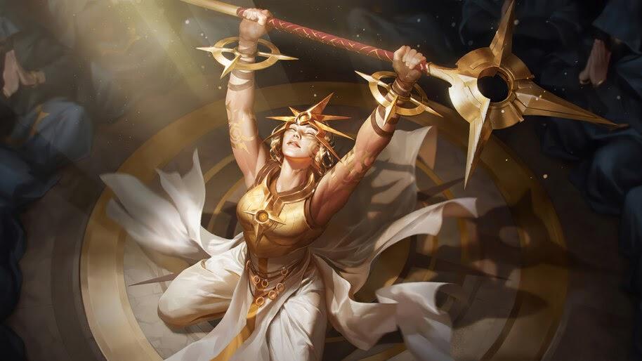 Solari Priestess, Targon, Legends of Runeterra, 4K, #5.2739 Wallpaper