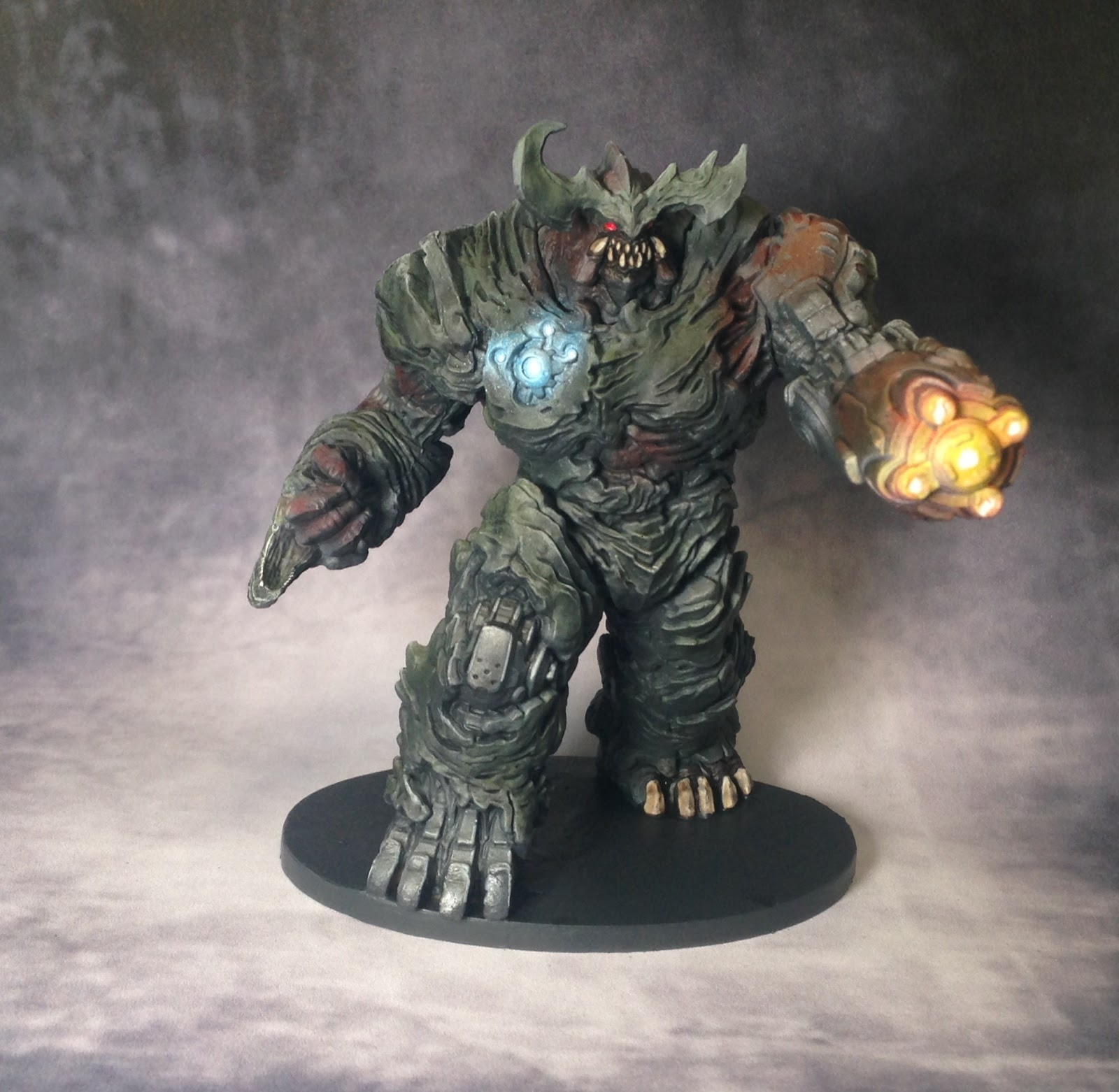 finmirage s stuff doom the boardgames painted the miniatures