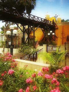 Puente de los Suspiros, no Barranco, em Lima