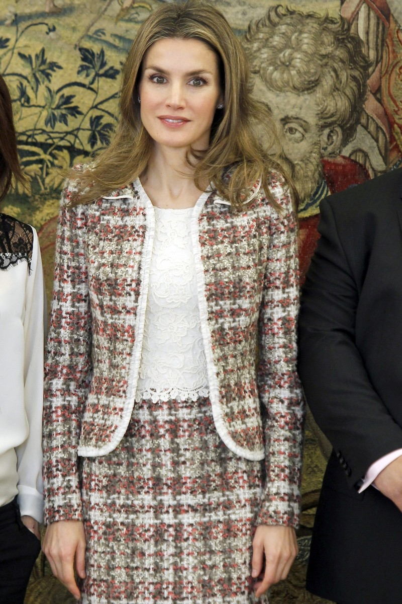 Queen Letizia Of Spain Visits The Vienna Newmyroyals
