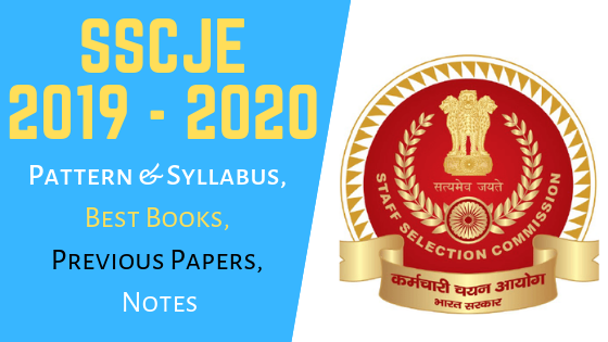 SSC JE Exam Pattern, Syllabus, Best Books, Previous Papers, Notes Download