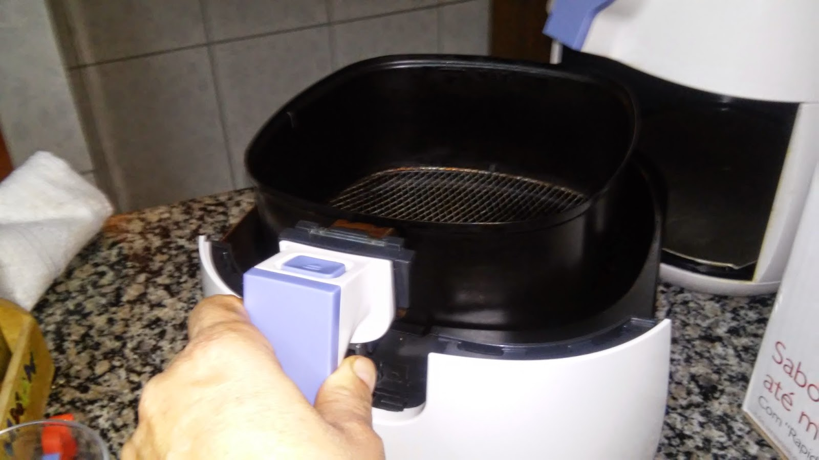 Fritadeira sem óleo Airfryer é uma grande aliada para nossa saúde