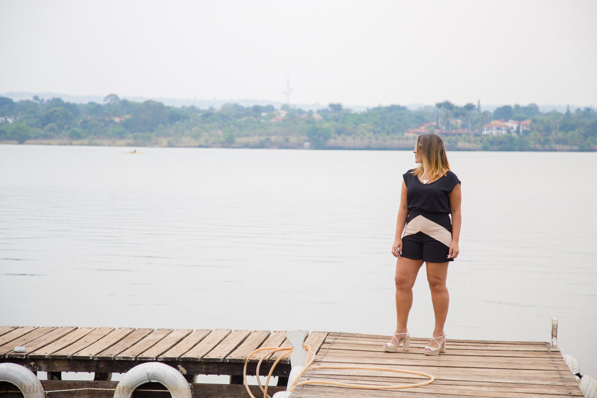 Look do fim de semana: shorts e camisa levinha