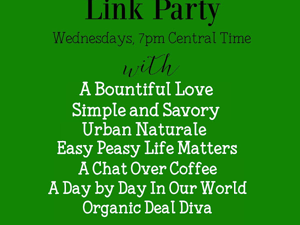 Welcome to the Healthy Living Link Party #72
