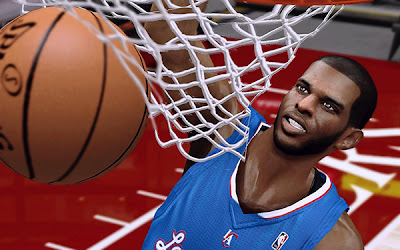 NBA 2K13 Chris Paul Cyberface NBA2K Patch