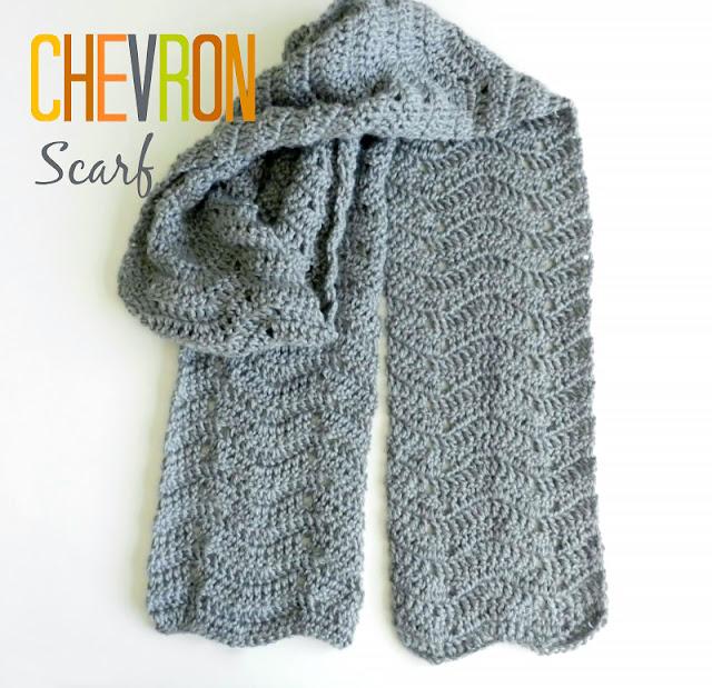 Crochet Chevron Scarf Pattern by Elise Engh Studios